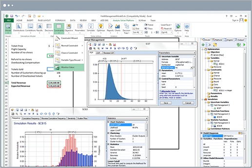 Analytic Solver - Simulation product screenshot